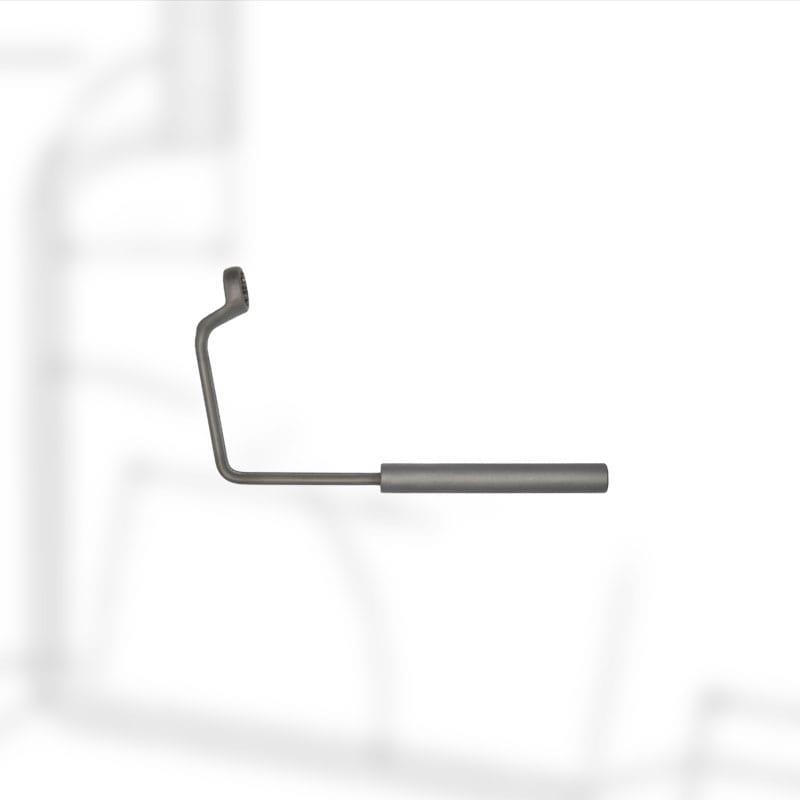 Ringschlüssel (Konterschlüssel) gekröpft und gebogen